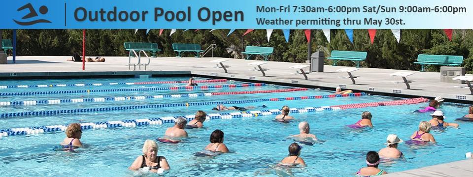 Outdoor Pool Open