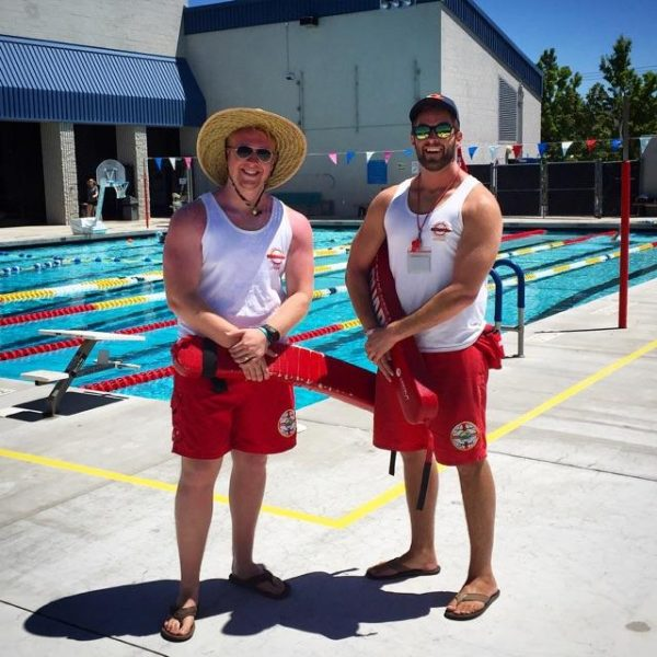 lifeguards outside