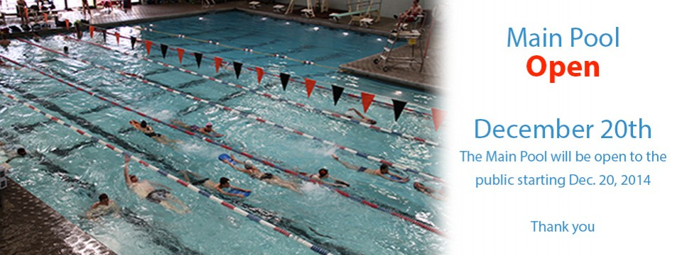 Main Pool Open