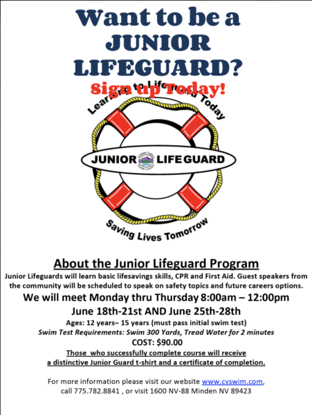 Jr Lifeguard June class