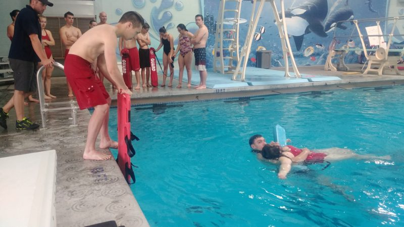 CVSC lifeguard training i